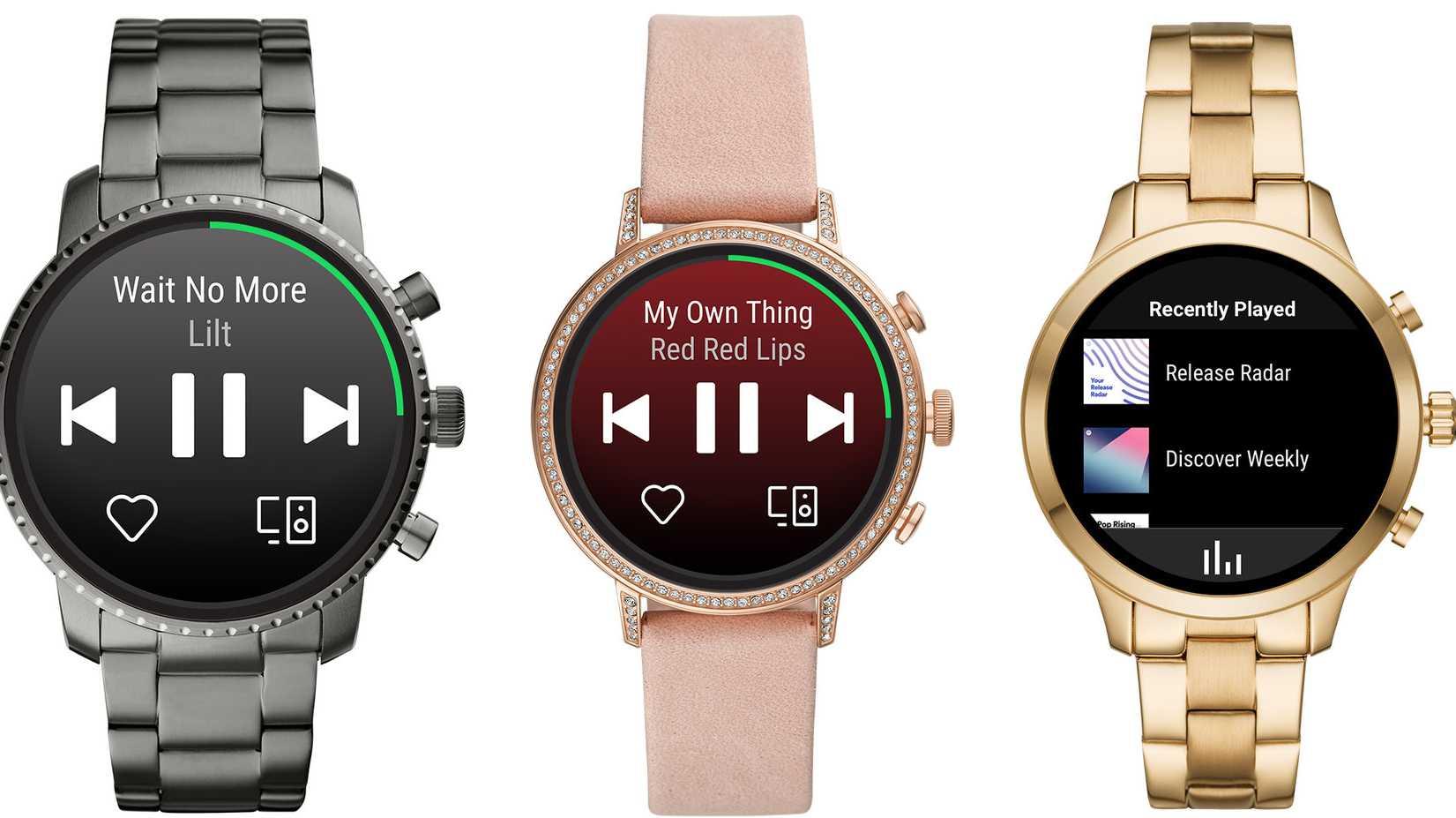 Spotify-App kommt auf Smartwatches mit Googles Wear OS