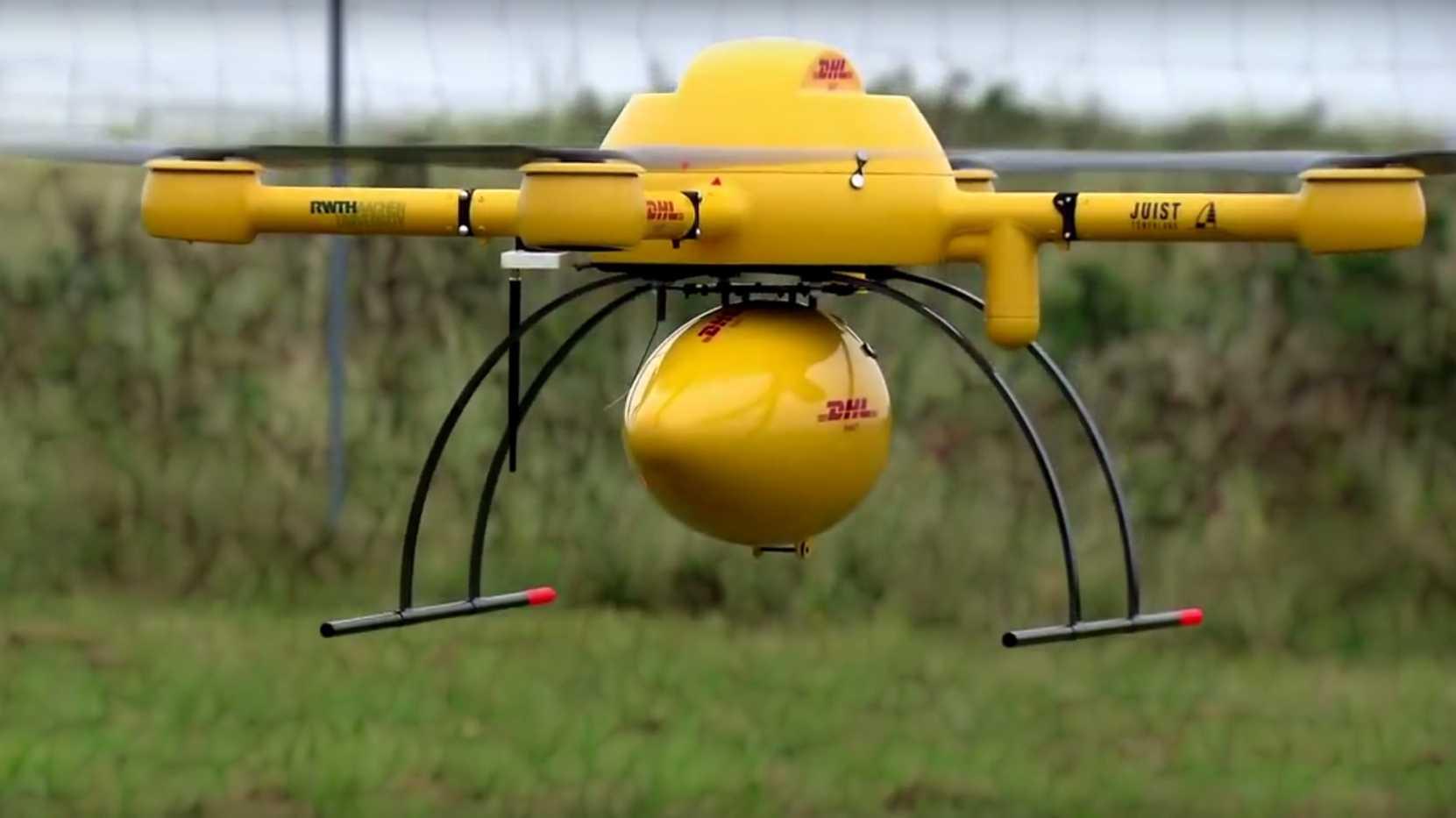 DHL-Quadcopter