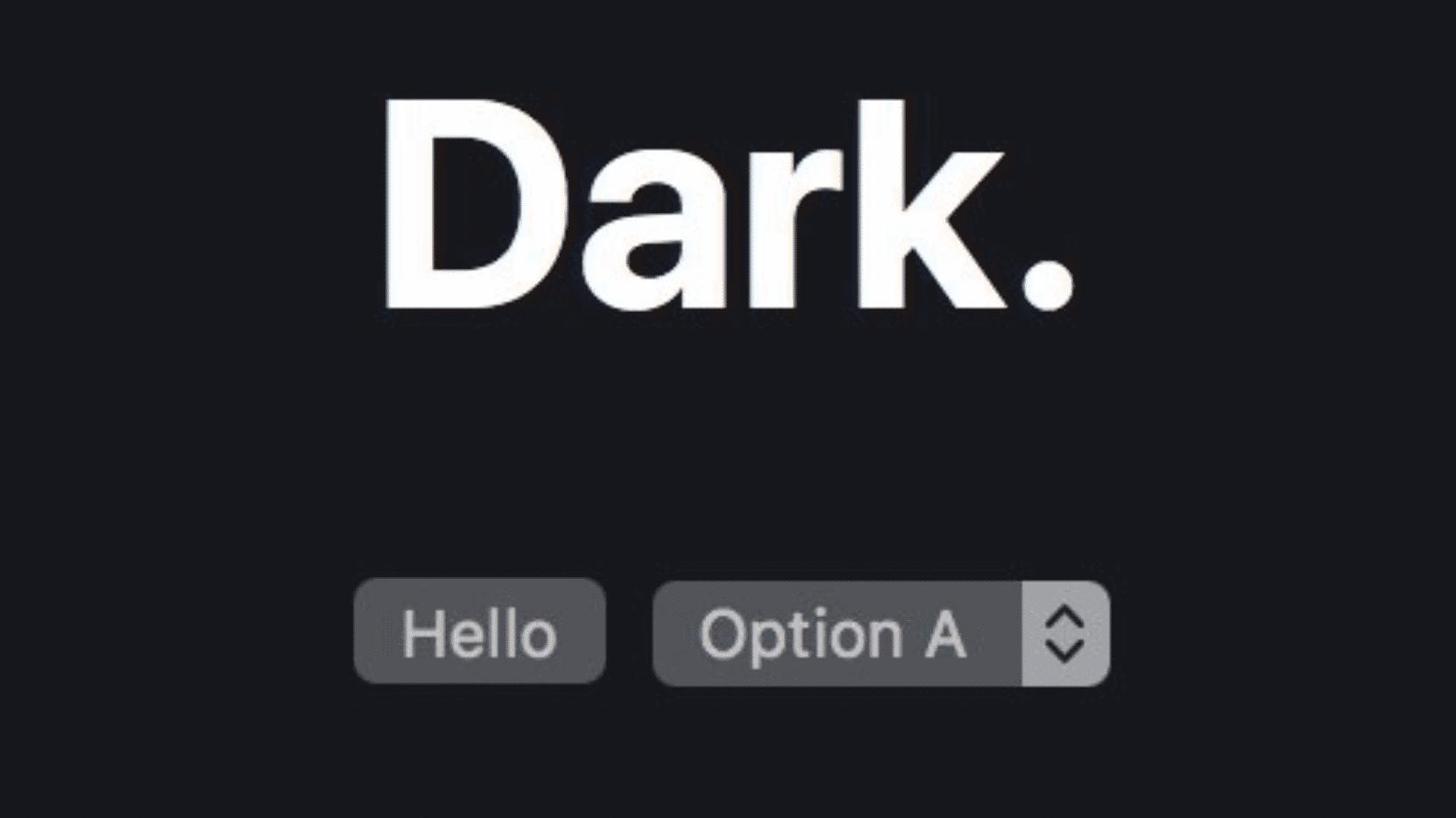 Hinweise in WebKit: Dunkelmodus für macOS 10.14 in Arbeit