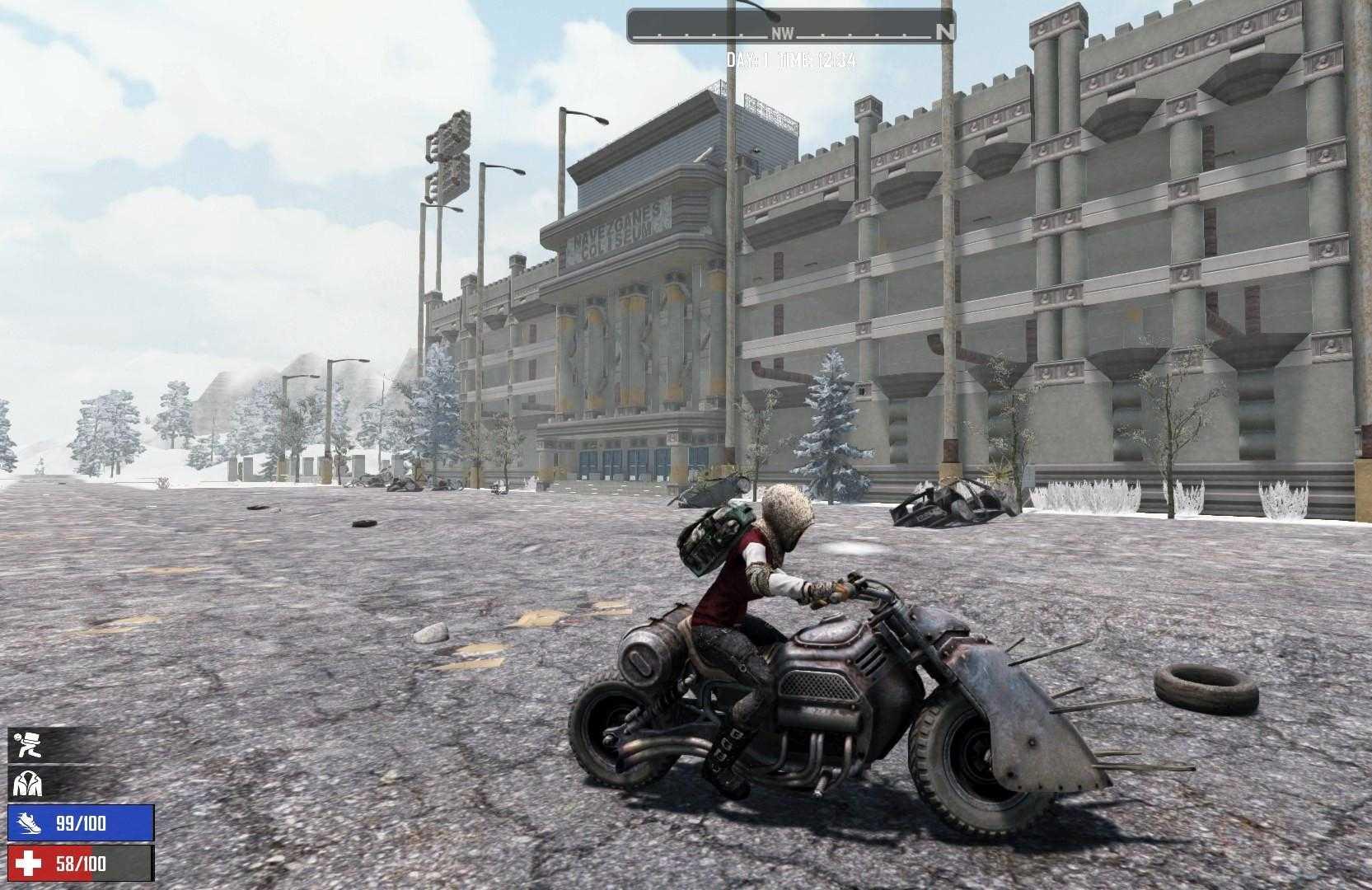 Motorrad in 7 Days To Die