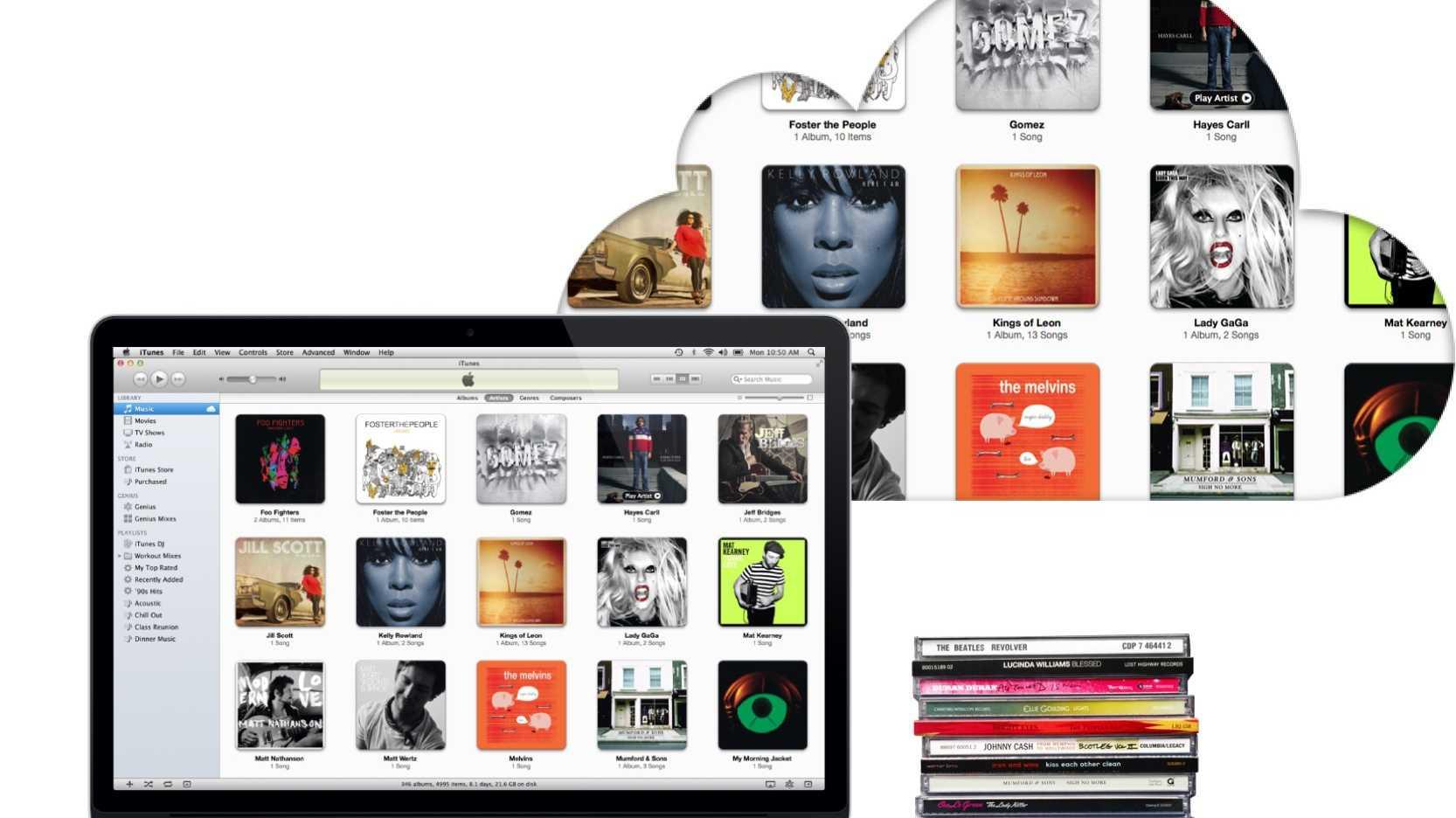 iTunes Match mit mehr Songs