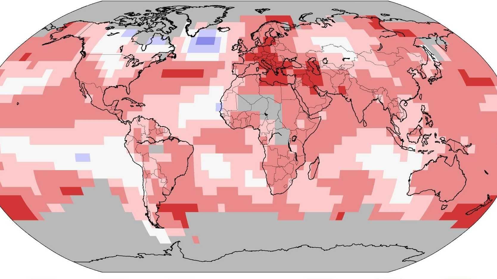 Klimawandel: Auch 2018 wieder eines der wärmsten Jahre