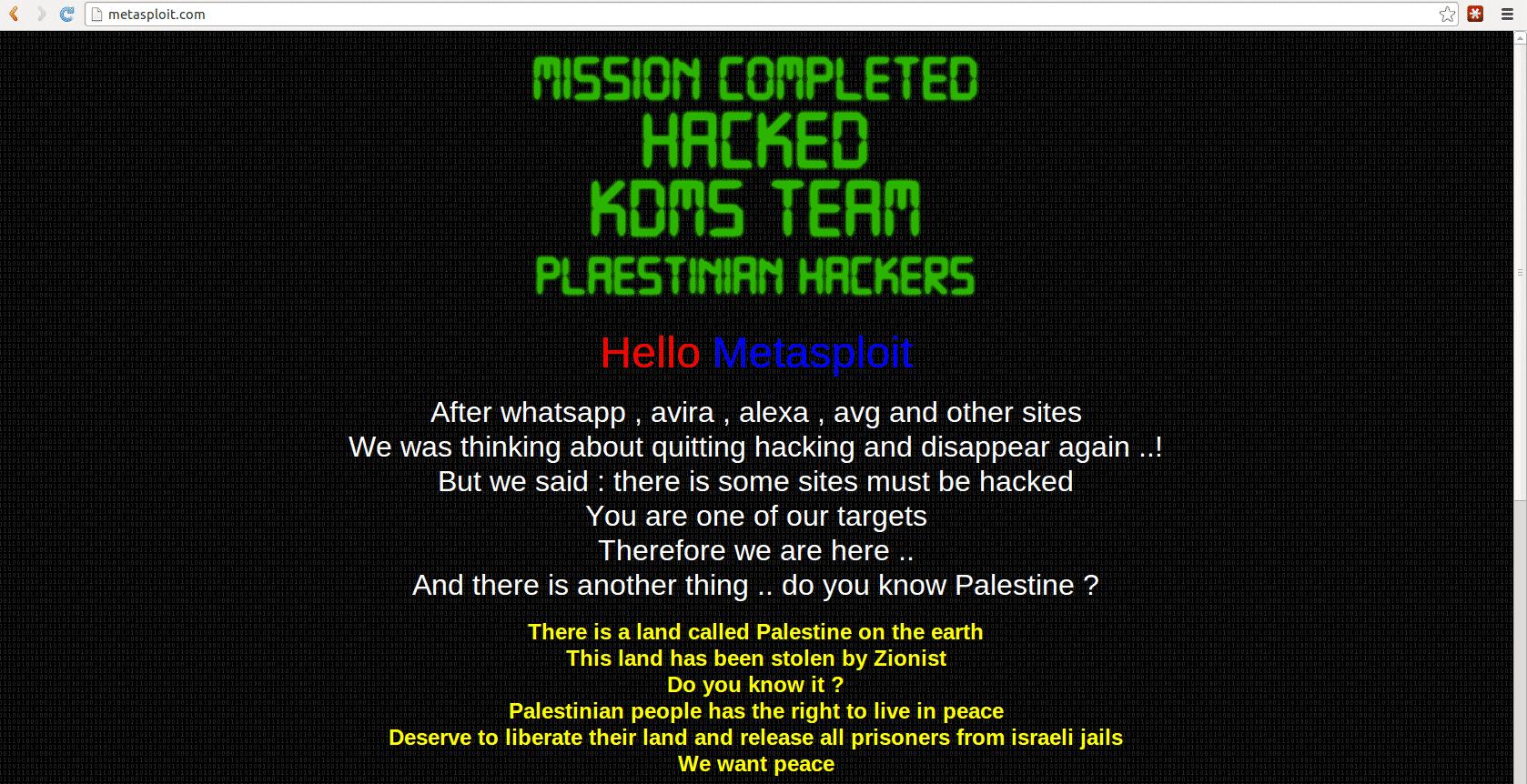 Metasploit-Hack