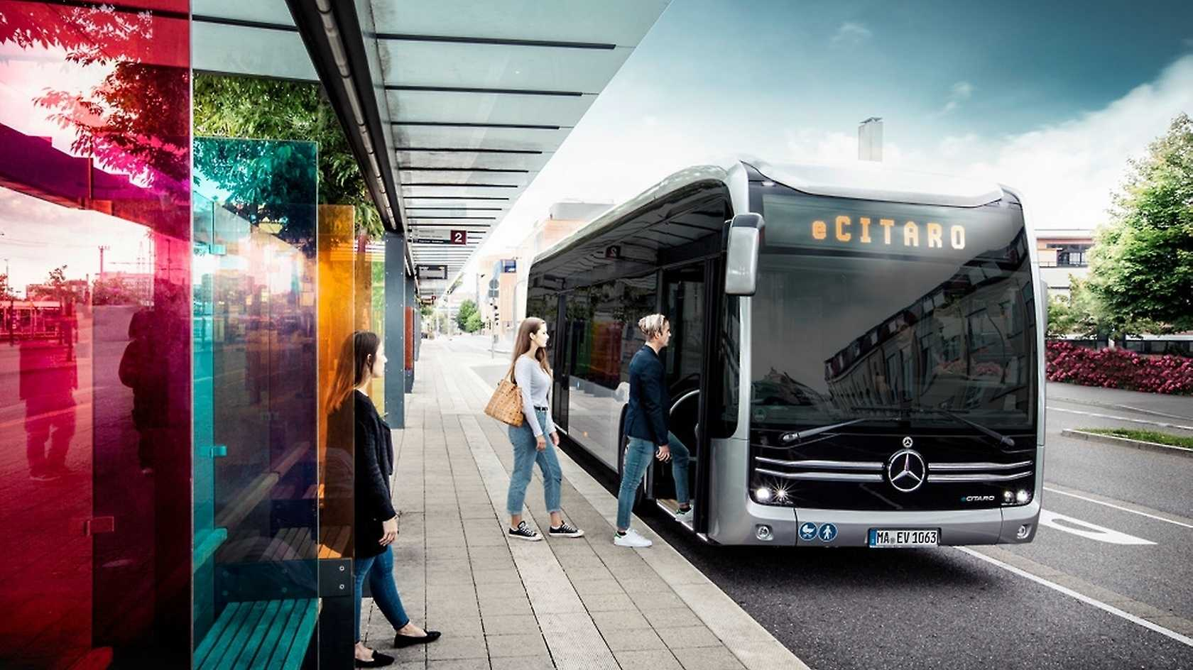 eCitaro: Daimlers Elektrobus soll 150 Kilometer weit reichen