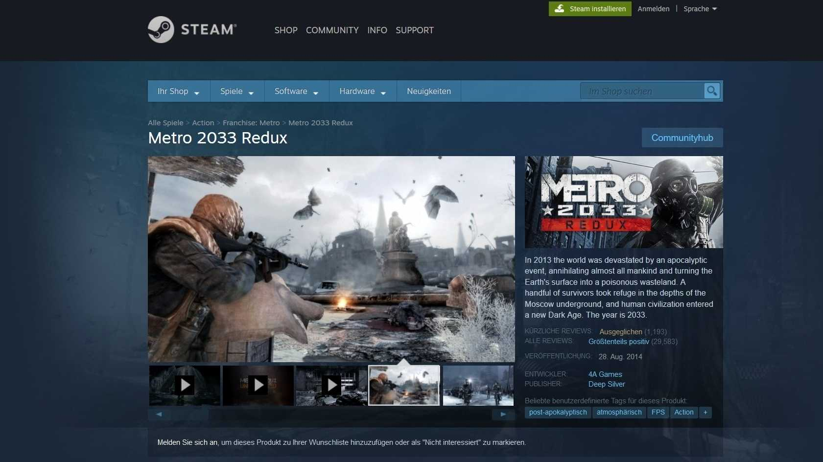 Steam: Rewiew Bombings sollen nicht mehr in Bewertungen einfließen
