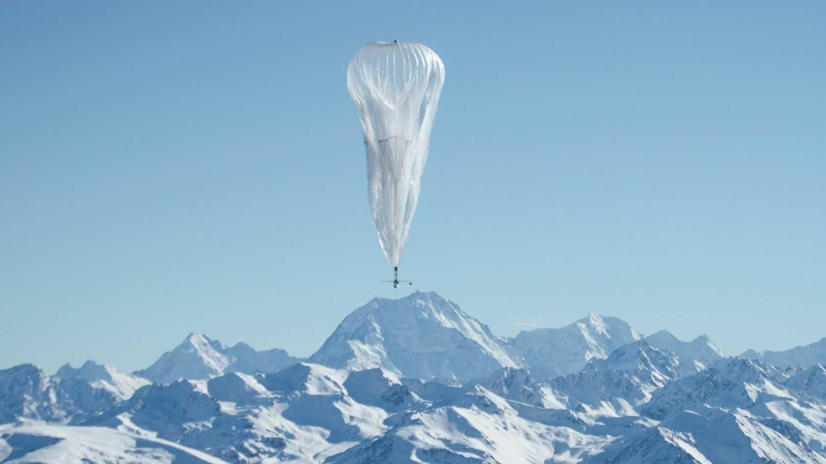Ballon-Internet für Hurrikan-Katastrophengebiete