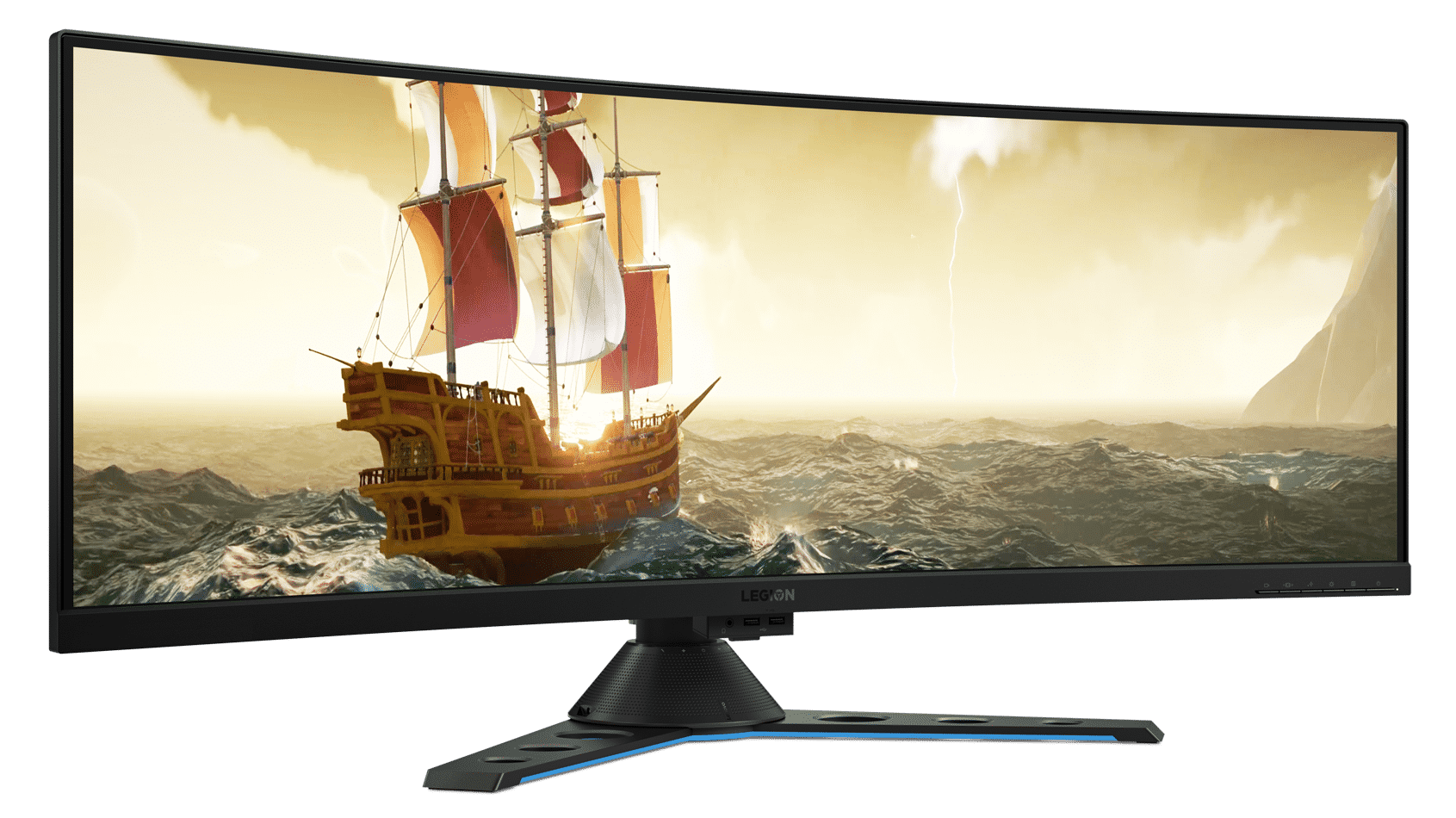 Lenovo zeigt neue Gaming-Displays mit G-Sync HDR oder 43-Zoll