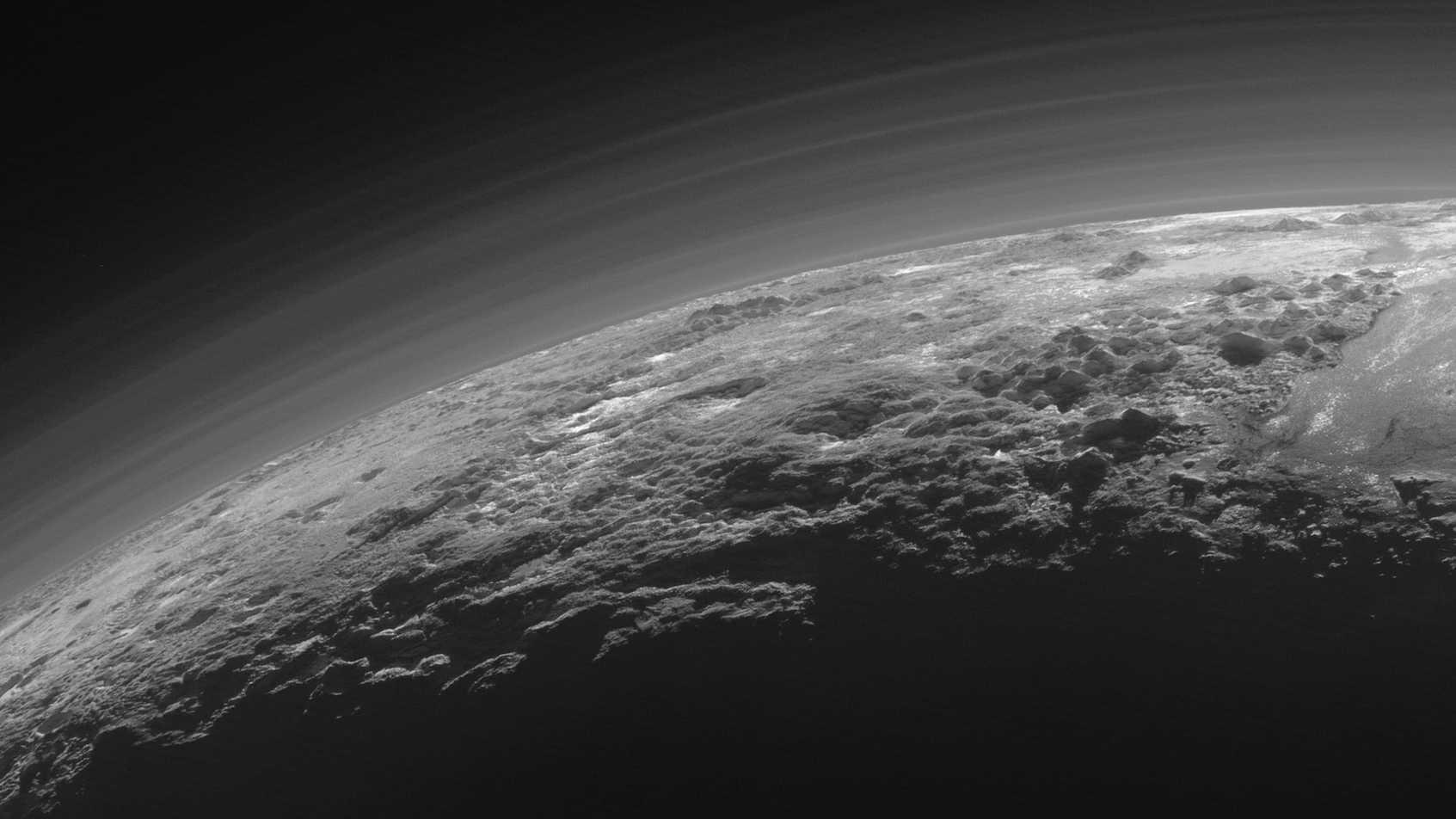 Pluto-Oberfläche