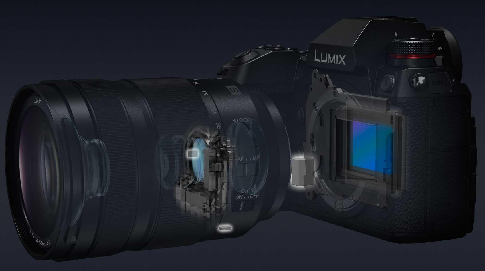 Panasonic Lumix S1R und S1: Technische Daten zu Vollformat-Spiegellosen