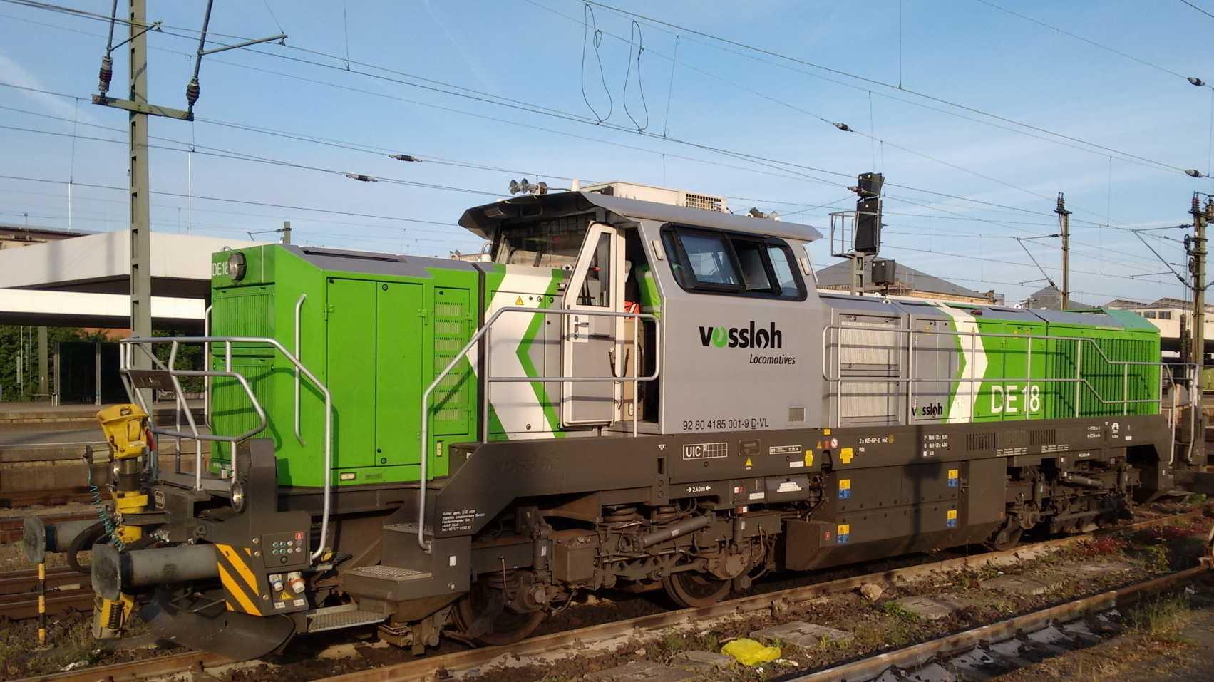 Digitale Zugtechnik auf Bahnmesse Innotrans