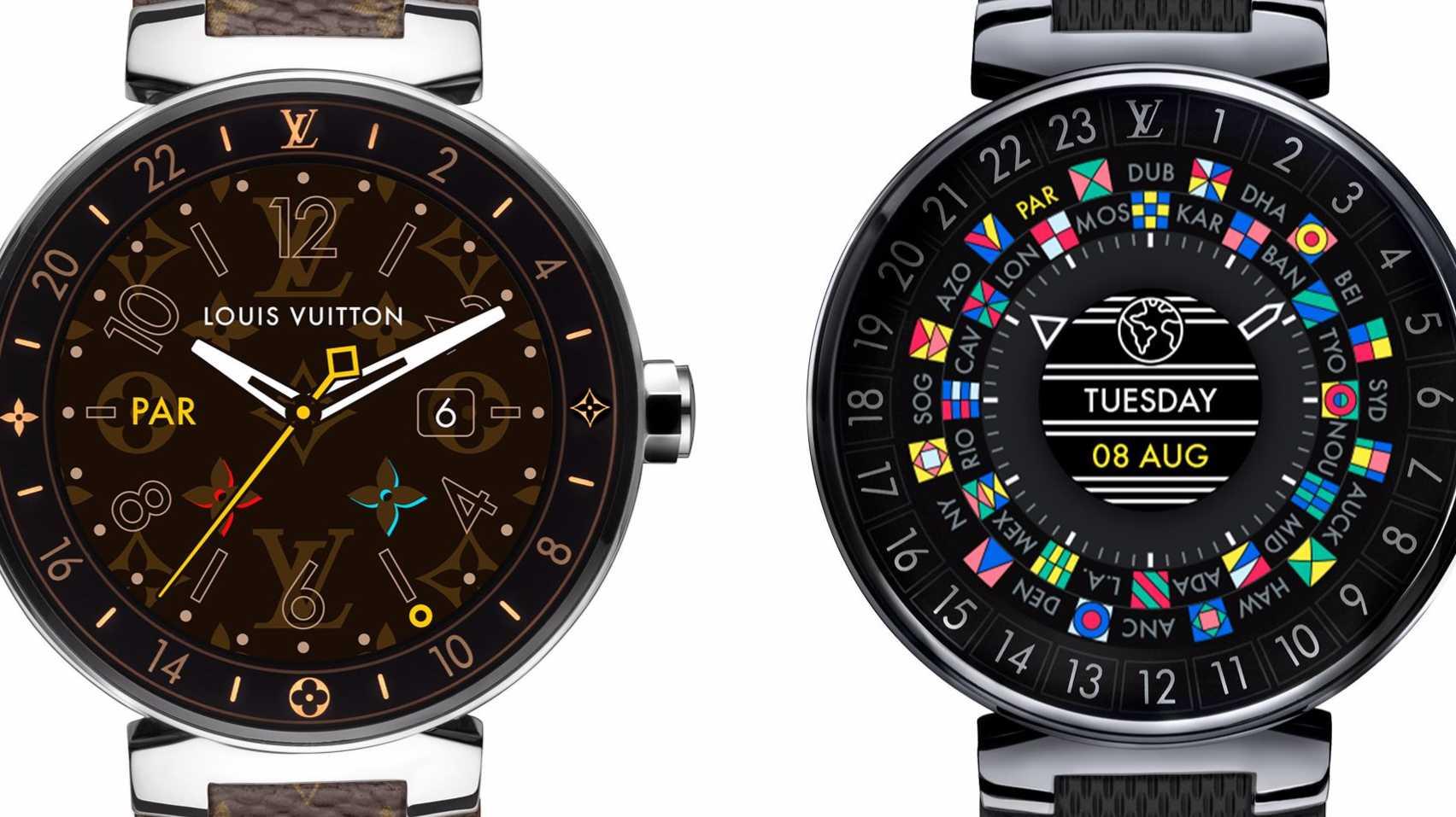 Tambour Horizon: Louis Vuitton stellt erste Smartwatch vor