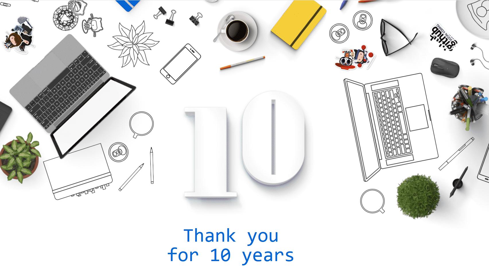GitHub feiert: Zehn Jahre Projekt-Hosting-Plattform