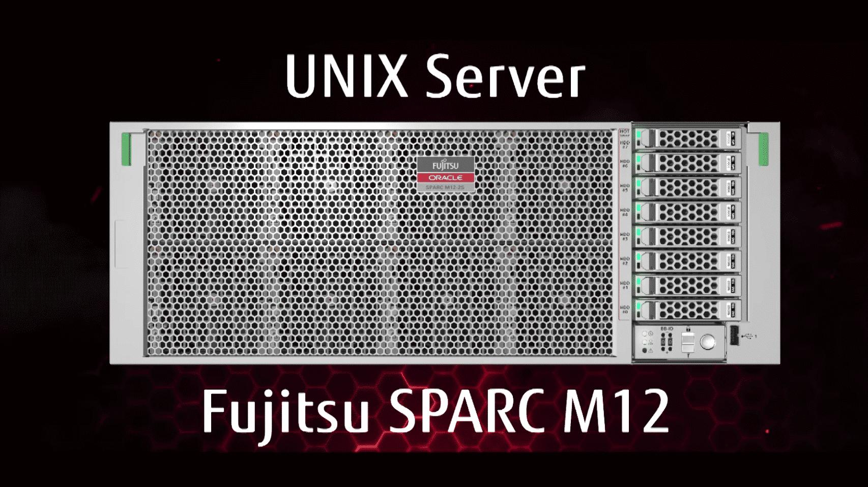 Mit SPARC und Solaris: Fujitsu stellt M12-Server vor