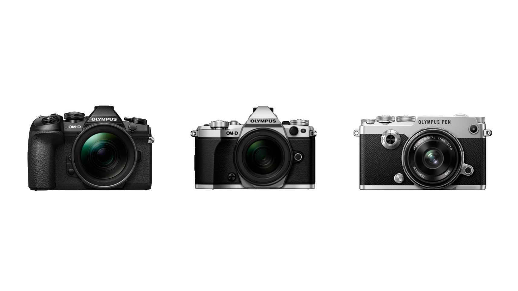 Firmware-Updates für Systemkameras von Olympus
