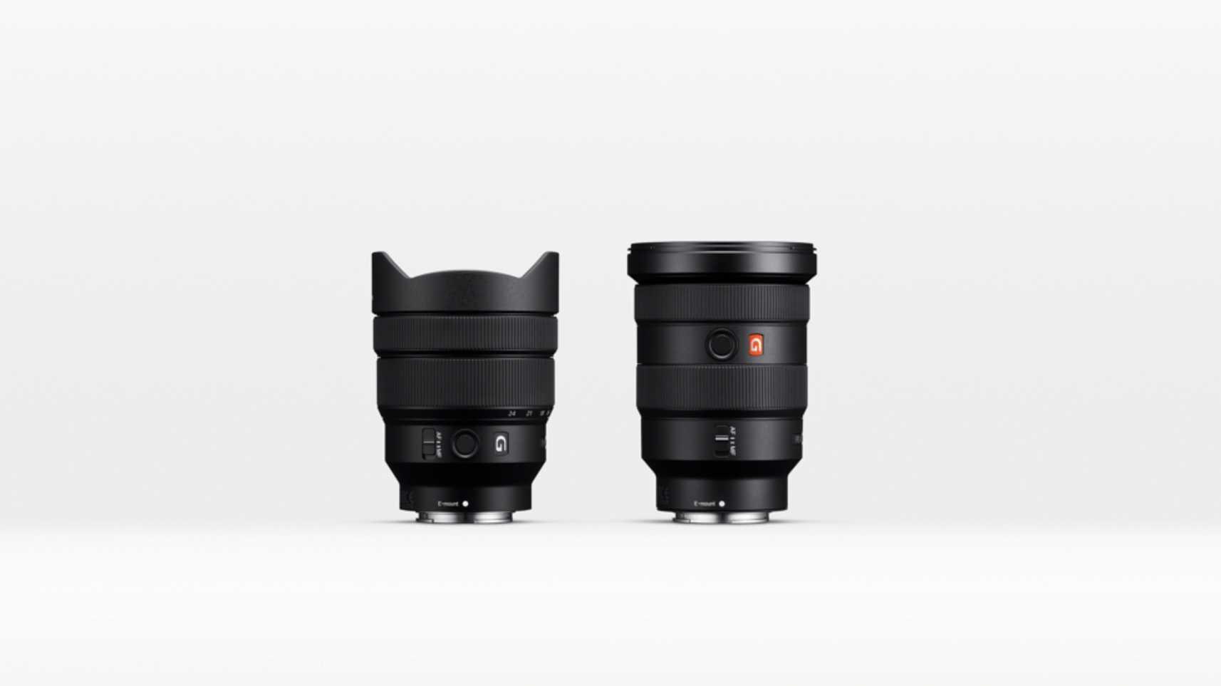 Sony präsentiert neue E-Mount-Objektive