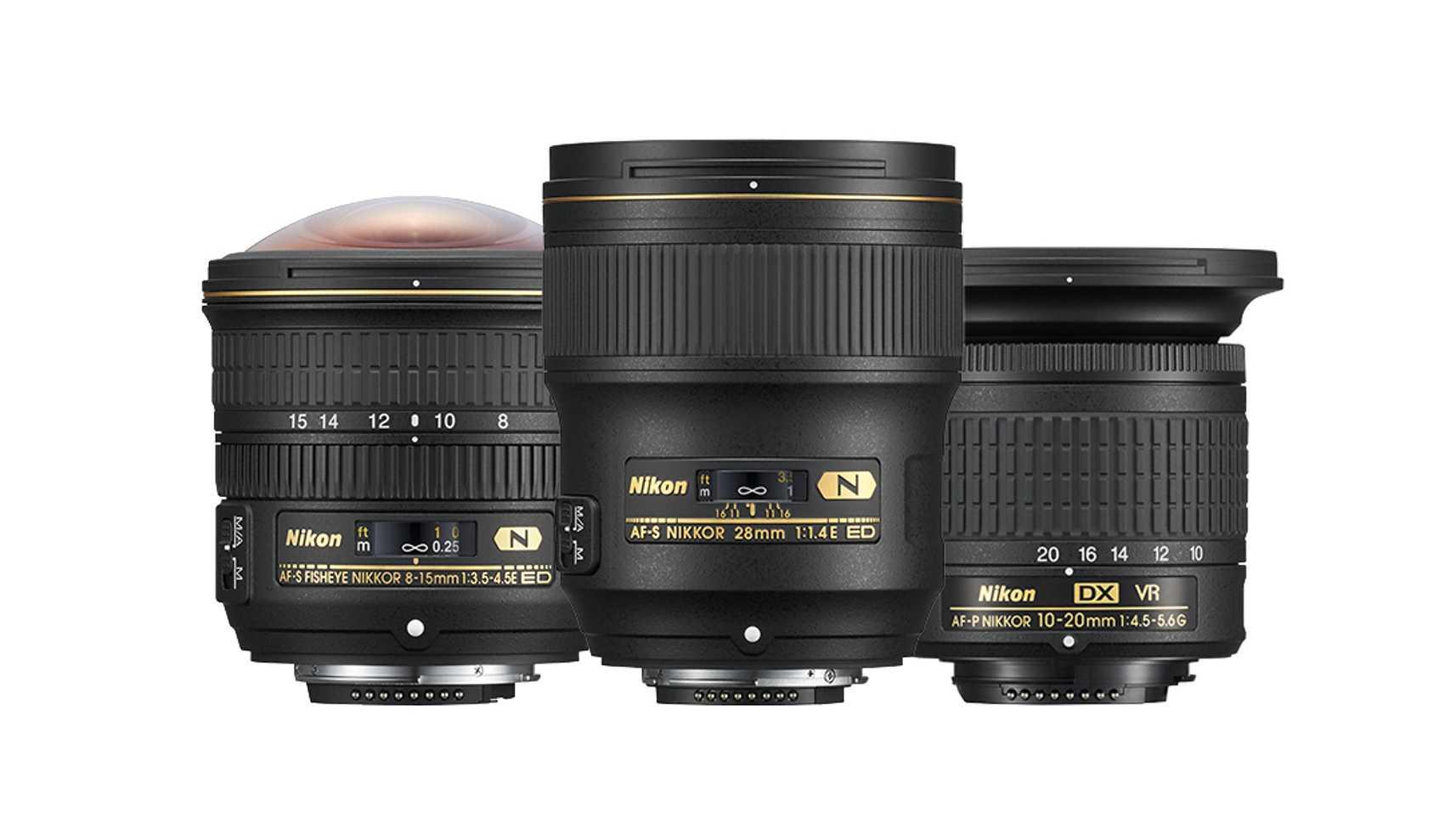 Drei neue Objektive von Nikon