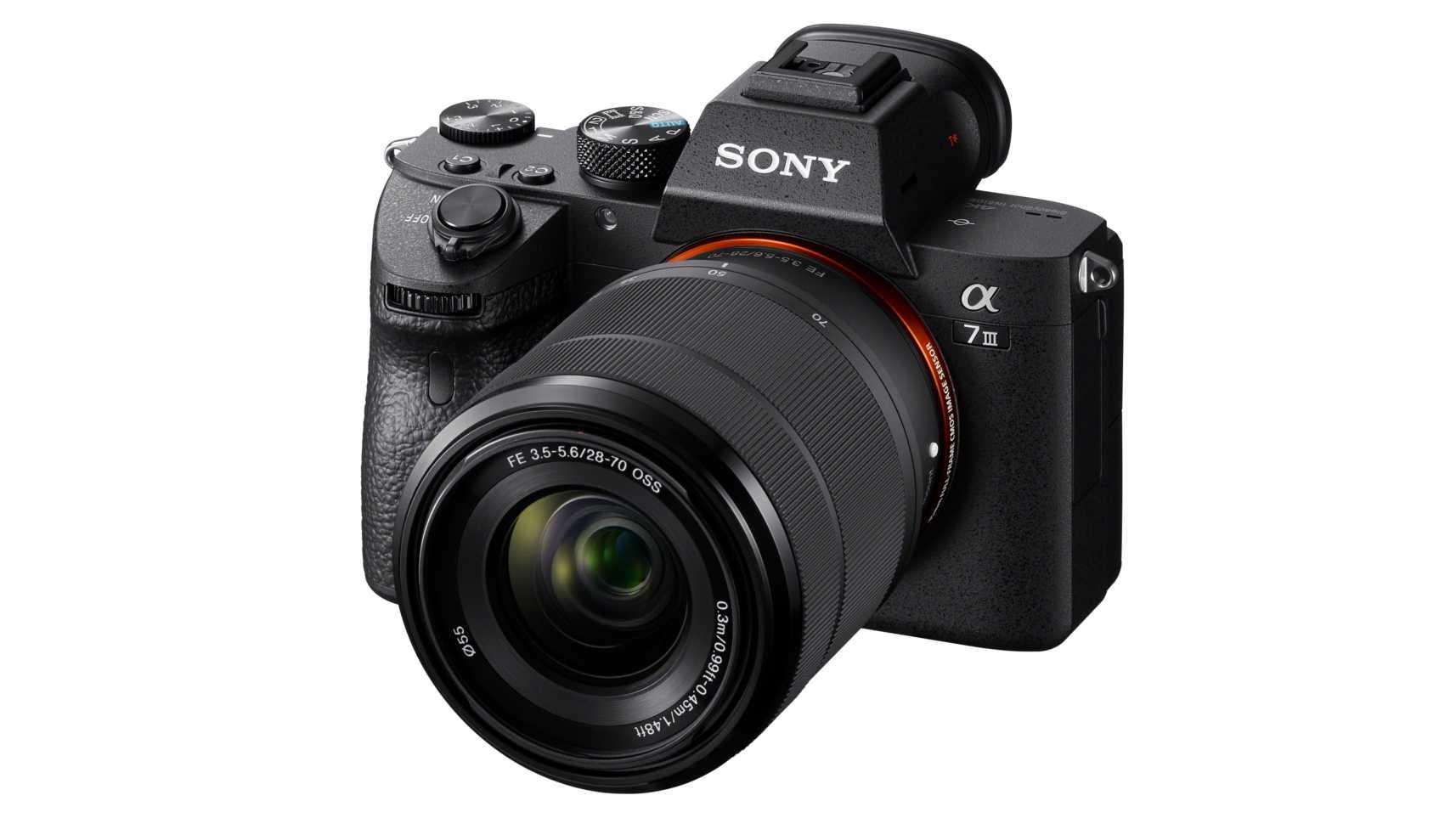 Sony zeigt neue Spiegellose Vollformatkamera a7 III