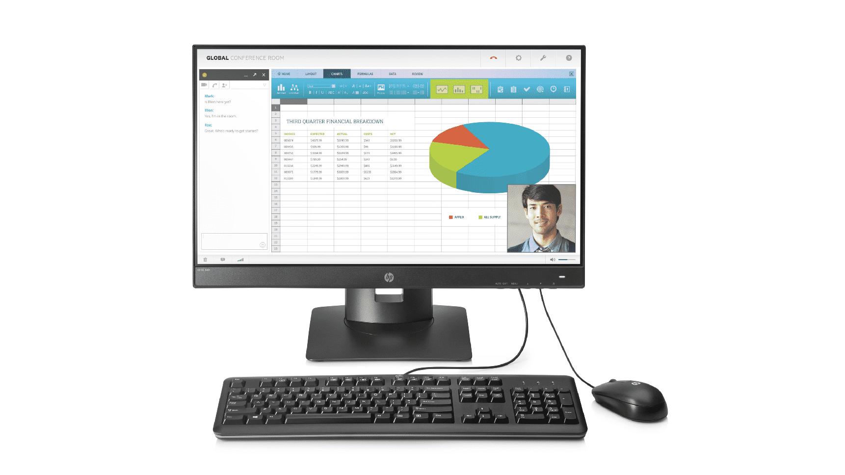 HP t310 G2: Zero-Client im All-in-One-Format von HP
