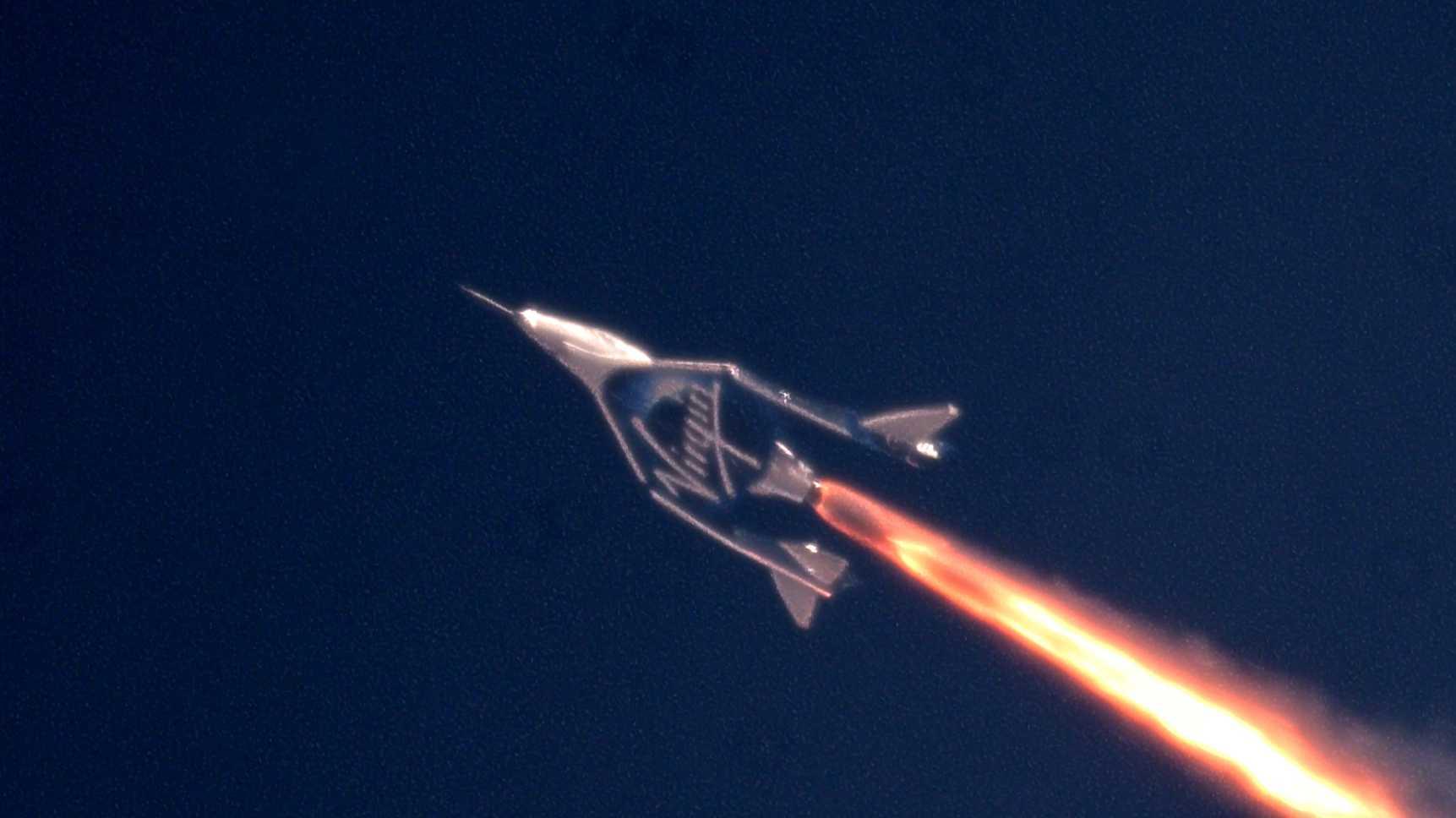 Virgin Galactic: VSS Unity erreicht erstmals den Weltraum