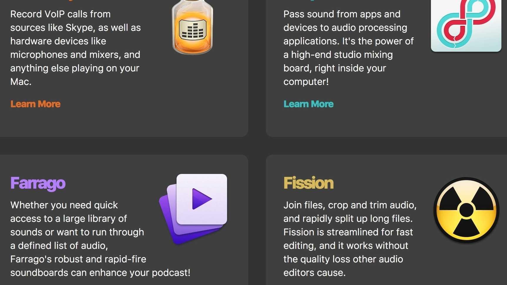 Rogue Amoeba schnürt Podcaster-Paket für den Mac
