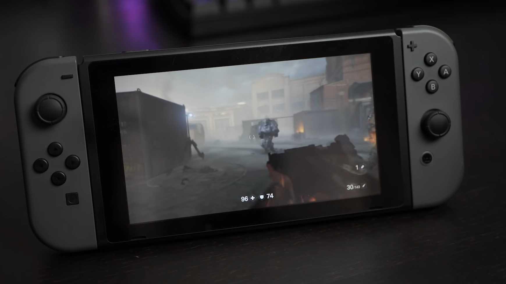 Wolfenstein 2 auf der Nintendo Switch: Technik-Tricks und Unschärfe für 30 fps