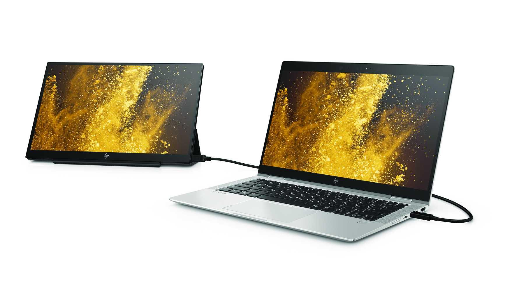Zusatz-Bildschirm für USB-C-Notebooks: HP EliteDisplay S14