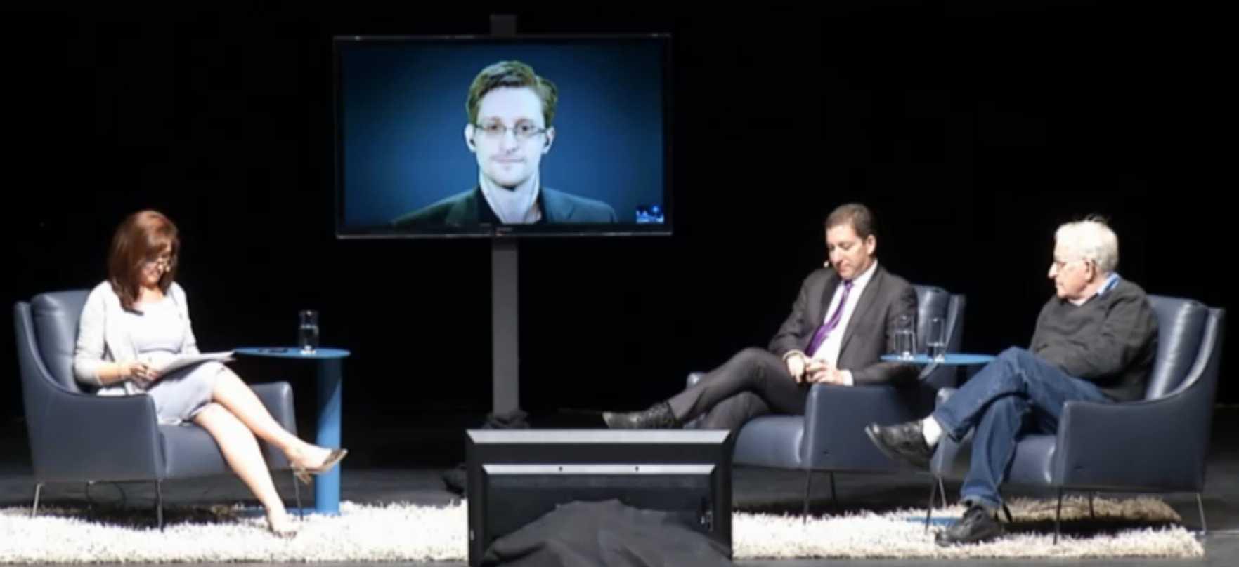 Nuala O?Connor, Edward Snowden, Glenn Greenwald, Noam Chomsky