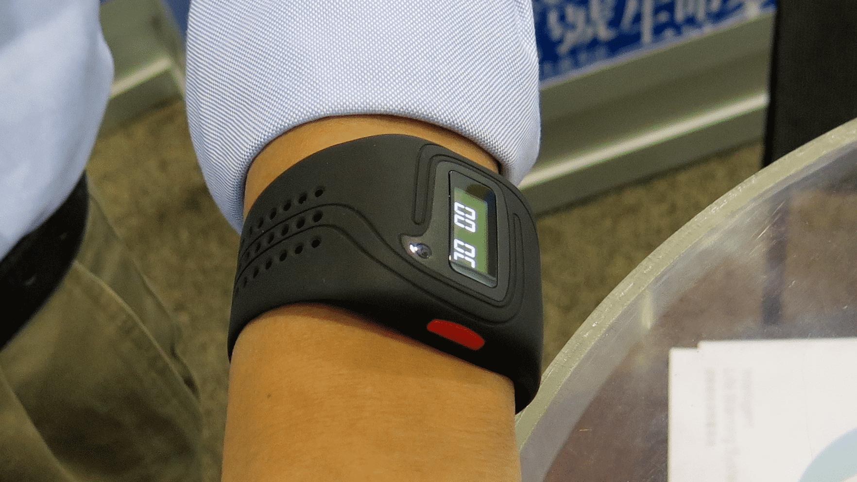 Smartwatch auf Handgelenk