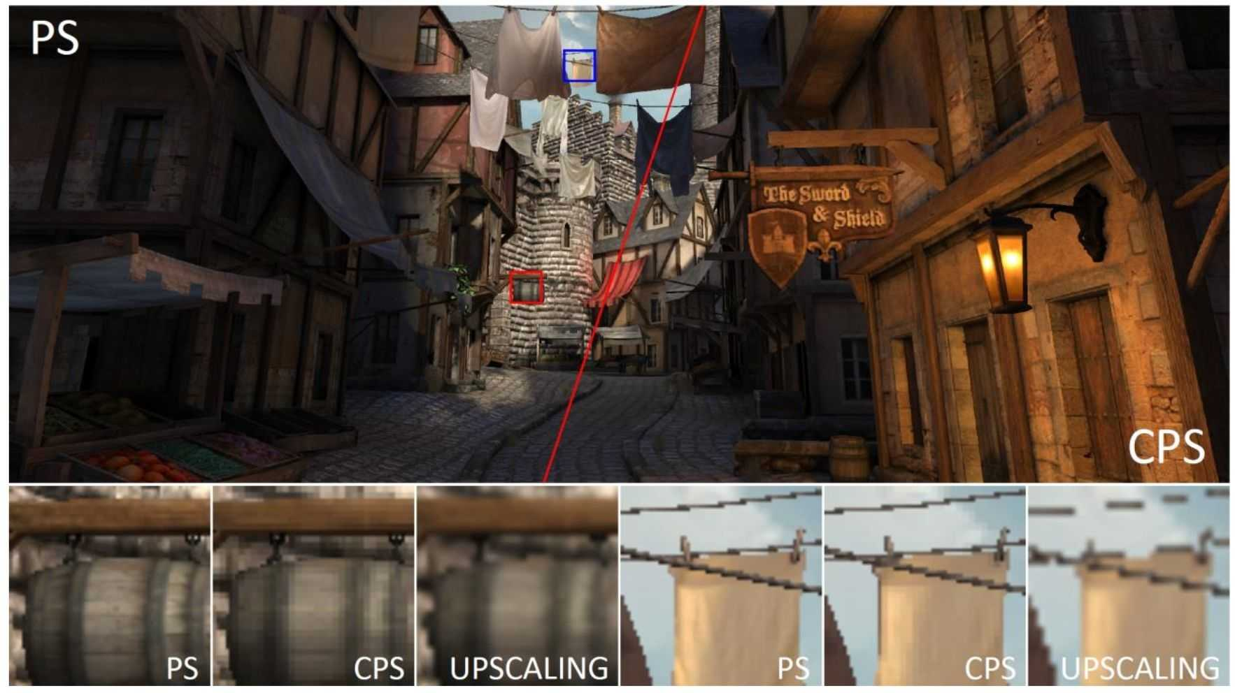 Coarse Pixel Shading erhöht die Bildrate, senkt aber die Bildqualität.