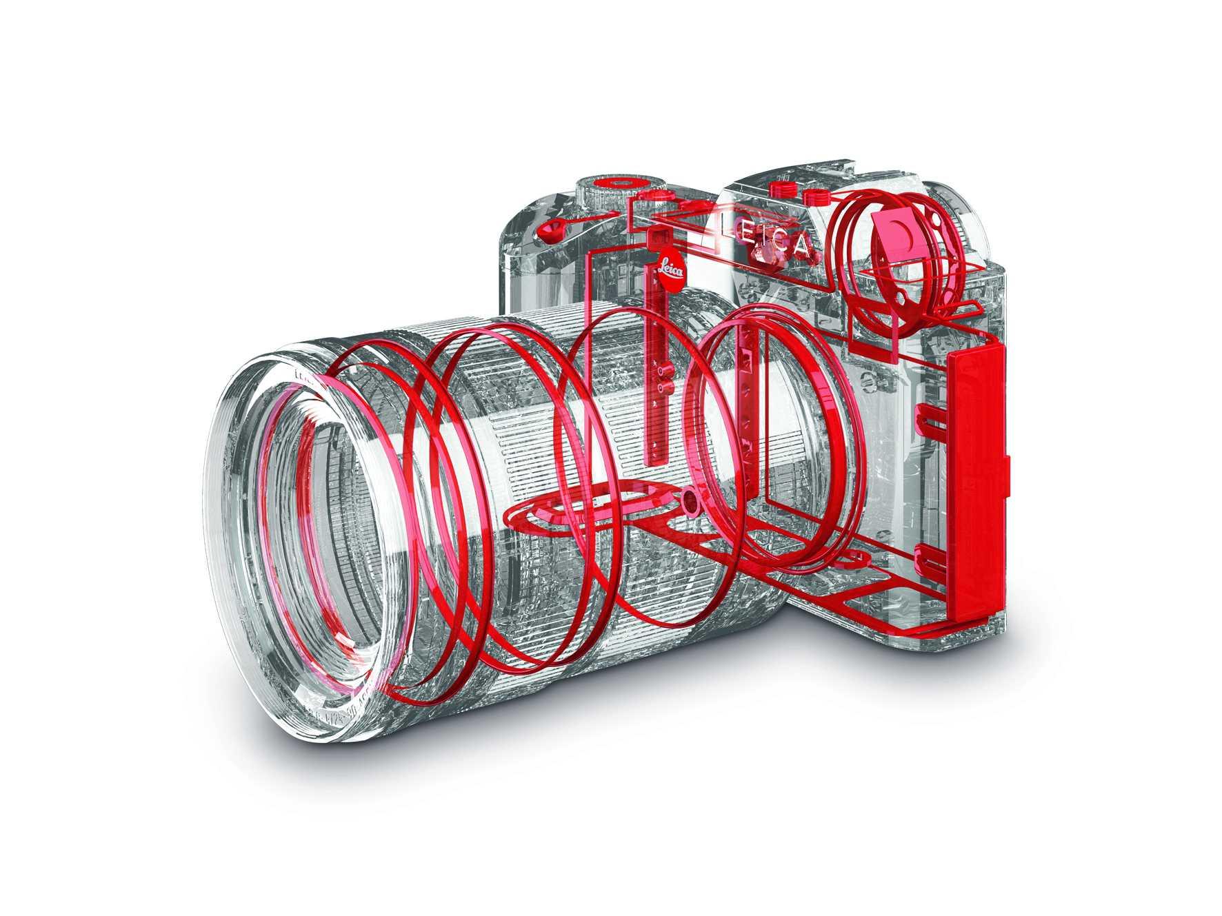 Dichtungen sollen die Leica SL gegen Staub und Spritzwasser schützen.