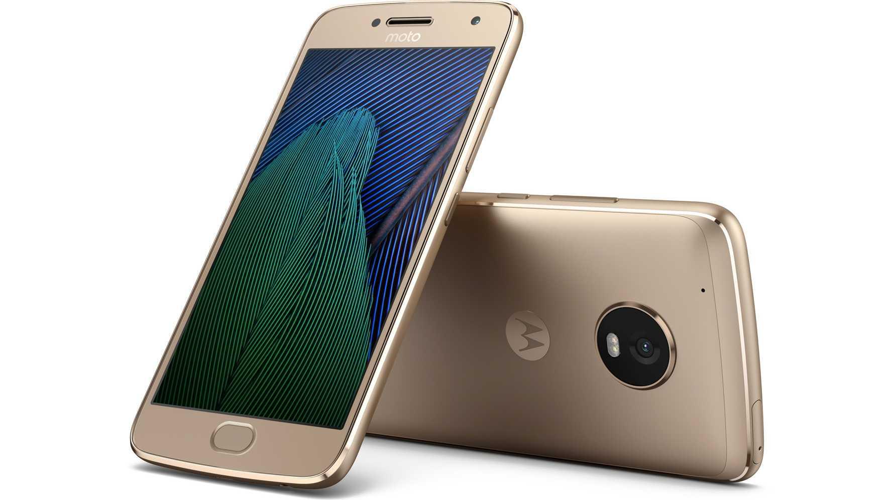 Moto G5 und Moto G5 Plus: preiswert und mit unverhunztem Android 7