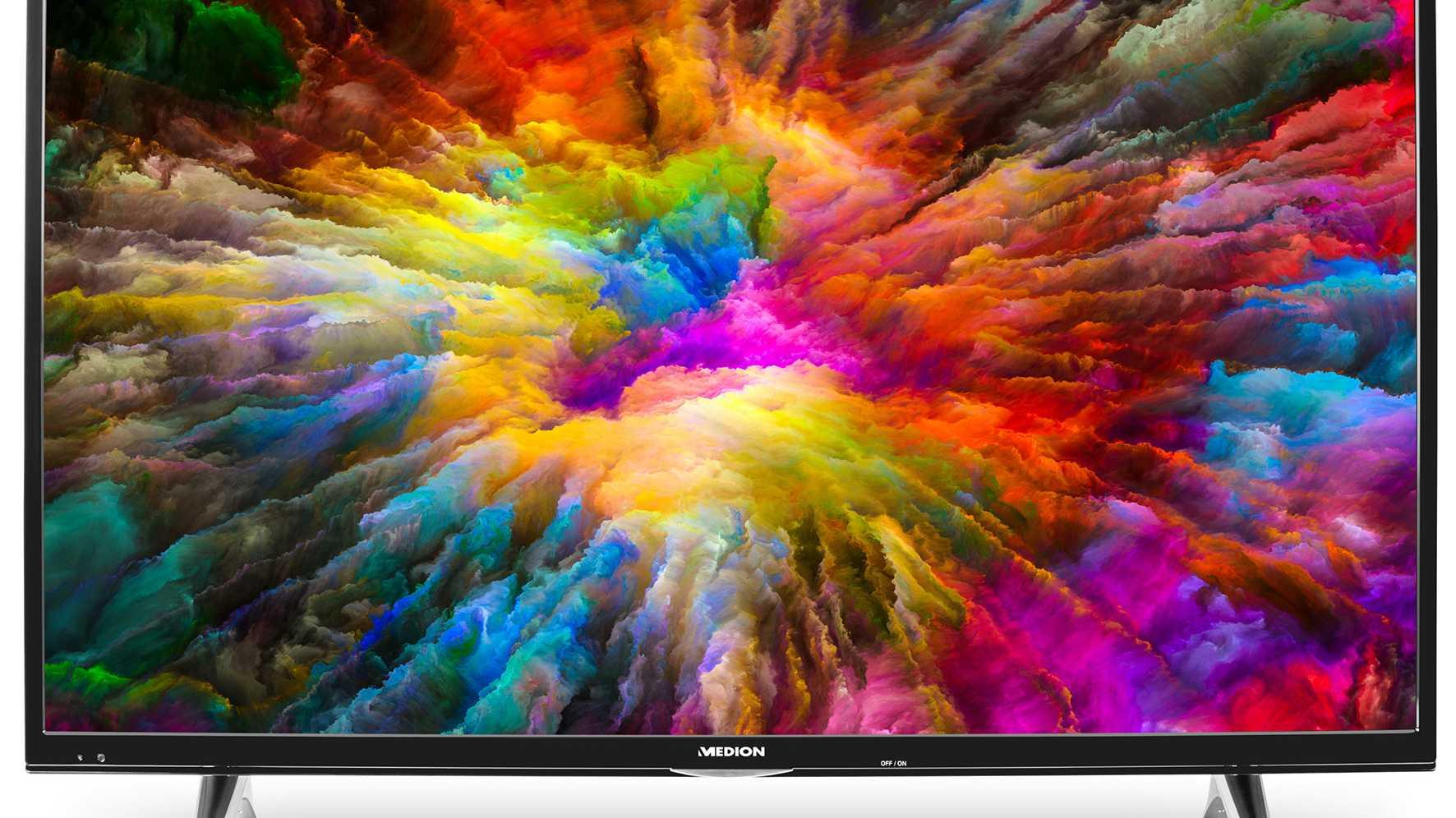Aldi-Angebot: Smart-TV mit 49 Zoll, 4K-Auflösung, HDR und Streaming-Apps