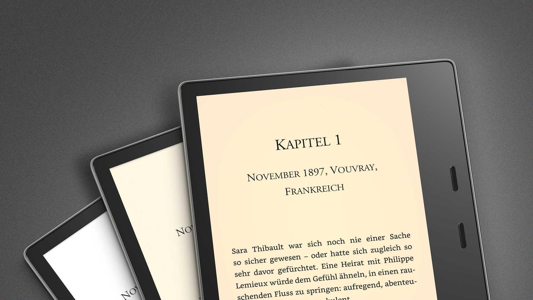 E-Book-Reader: Neuer Kindle Oasis mit einstellbarer Farbtemperatur