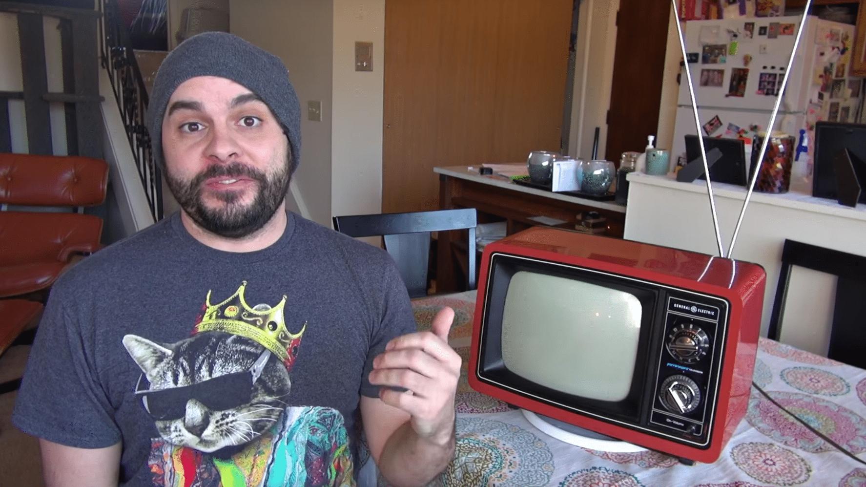 Dr. Moddenstines Vintage-Chromecast-TV