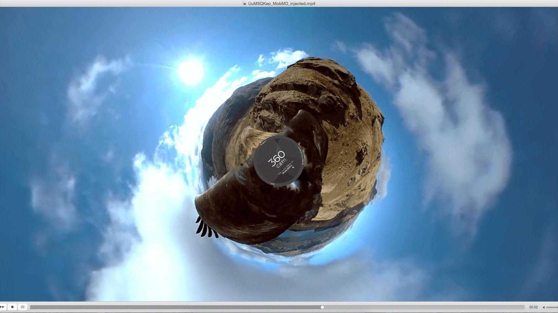 VLC für macOS unterstützt 360-Grad-Videos