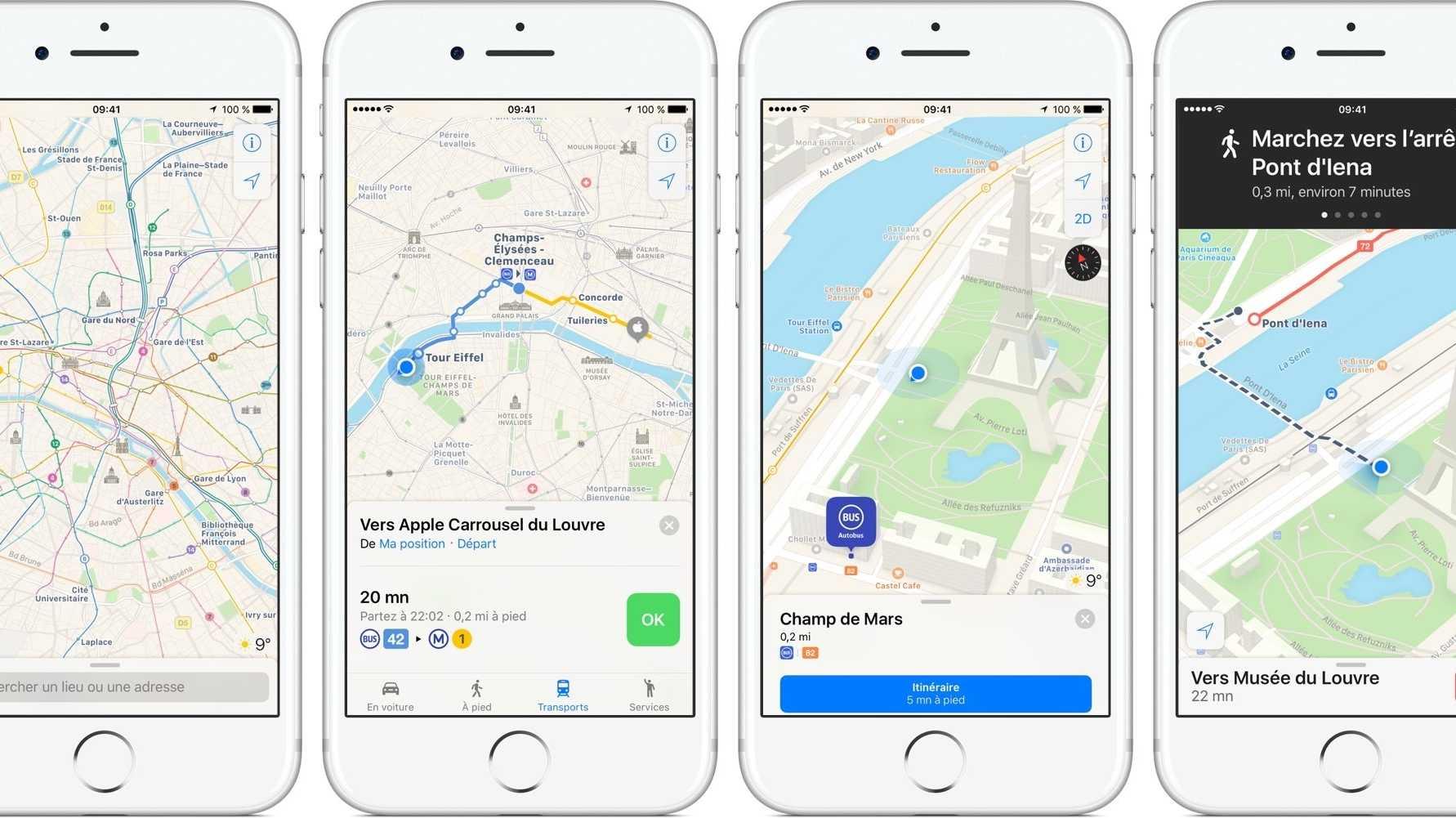 Apple Maps zeigt Mieträder – aber nicht alle