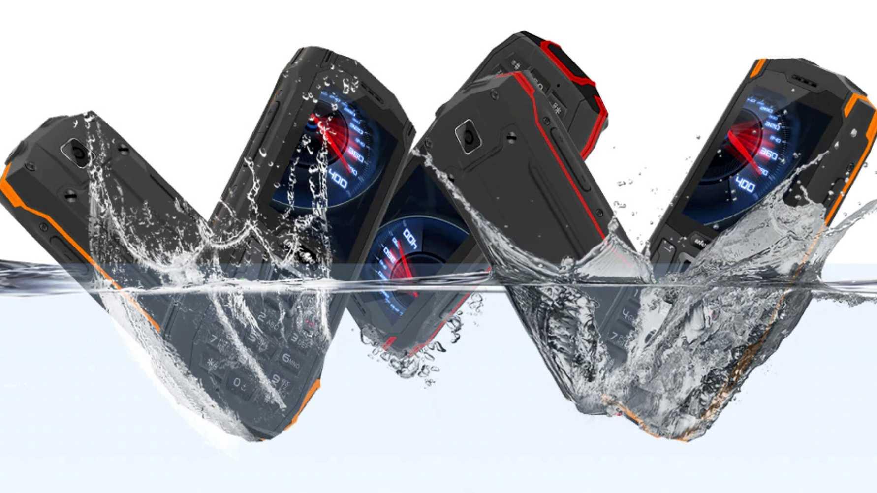 Wasserfeste Outdoor-Handys unter 50 Euro