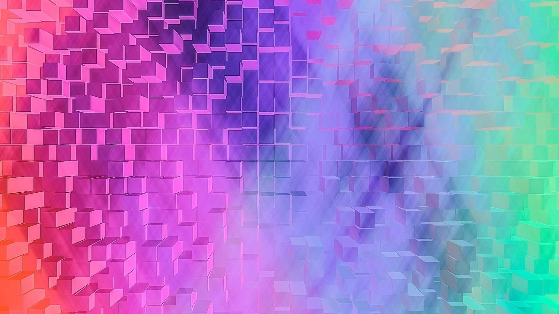 Würfel, Block, Struktur, Farbe