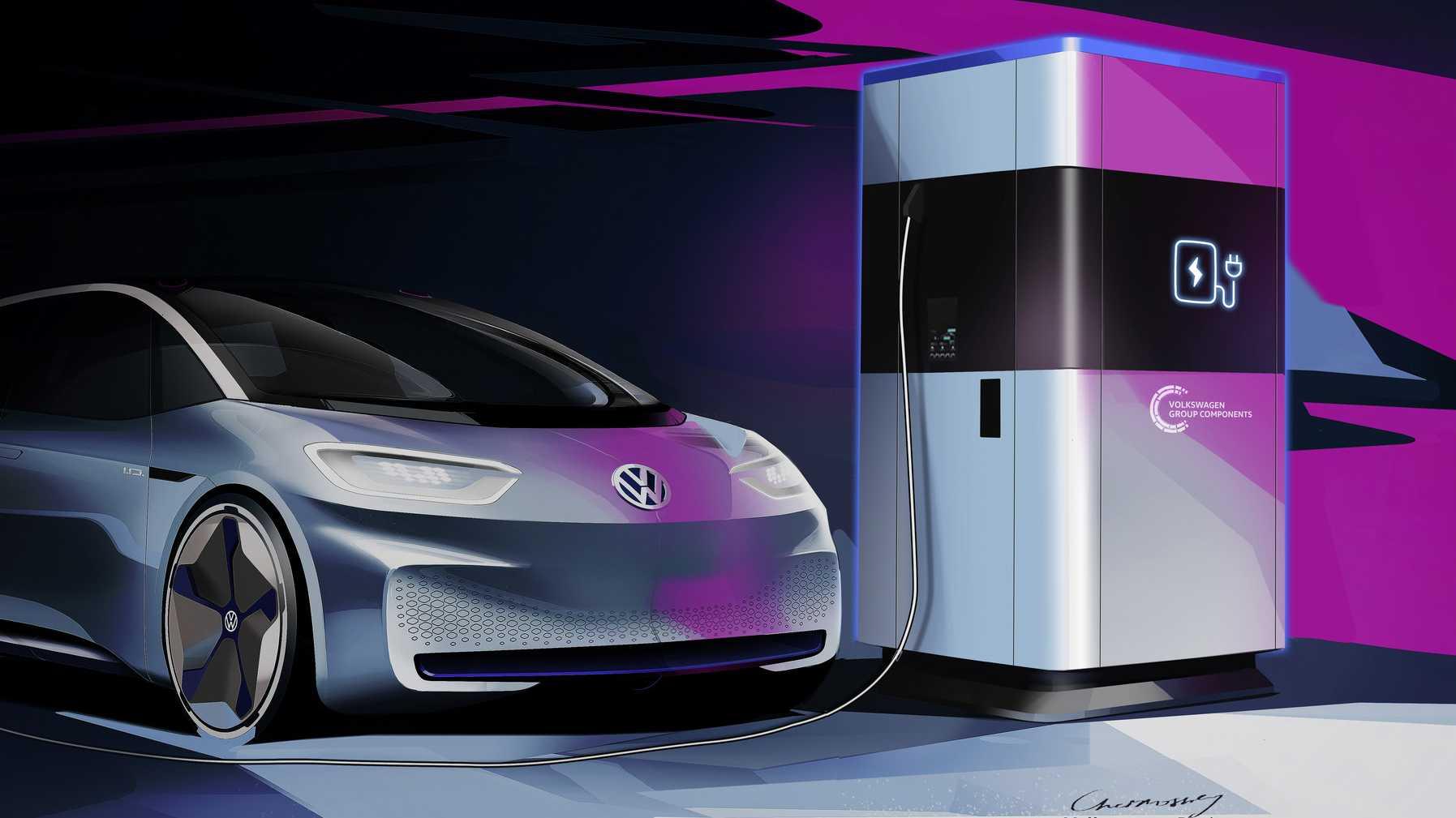 """VW: 360-kWh-""""Powerbanks"""" für mehr E-Mobilität"""