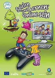 Broschüre Spielen und Lernen: Online sein