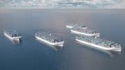 Rolls Royce plant unbemannte Frachtschiffe
