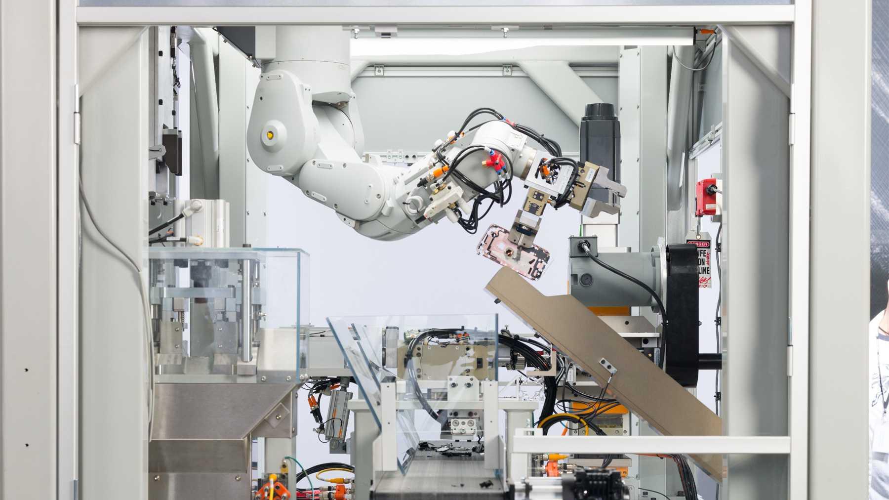Apple-Roboter Daisy