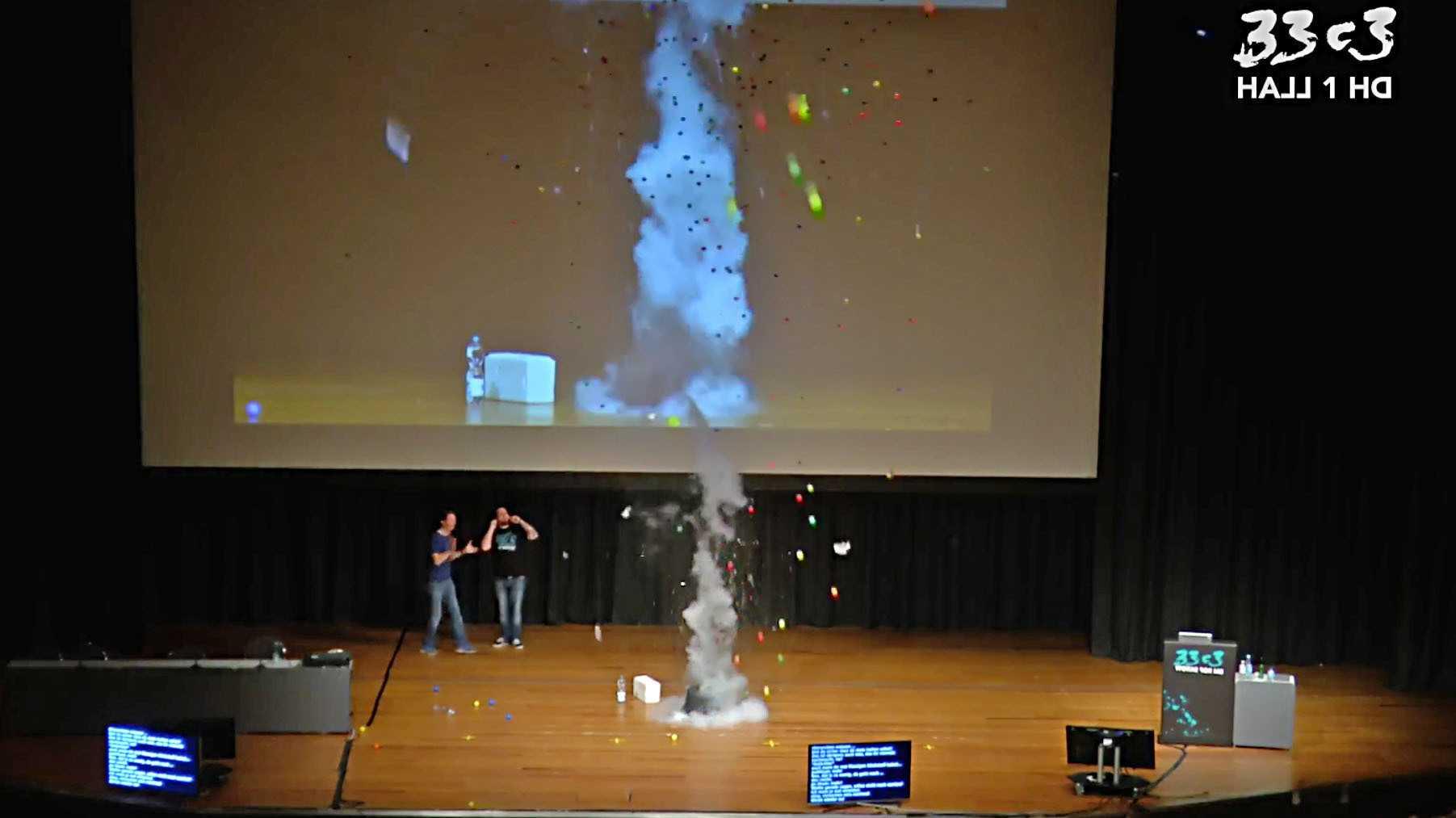 33C3: Hackerkongress endet mit Humba-Täterä im explodierenden Bällebad