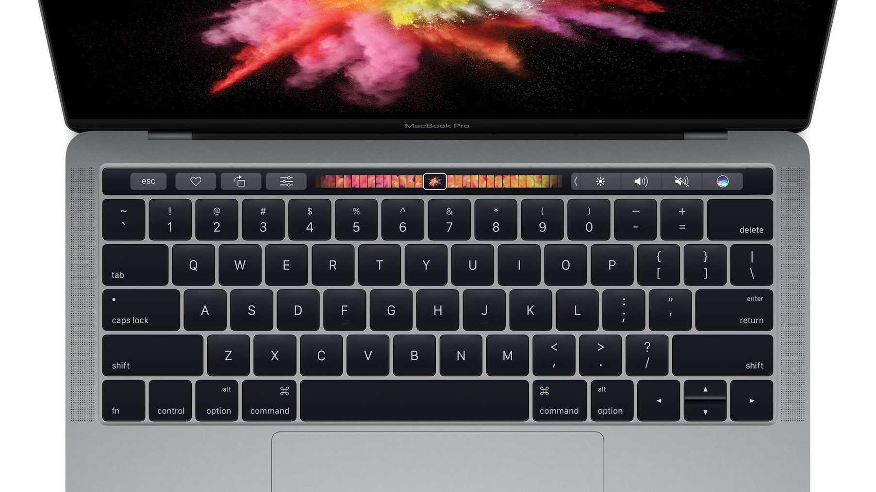 MacBook Pro mit Touch ID und Touch Bar