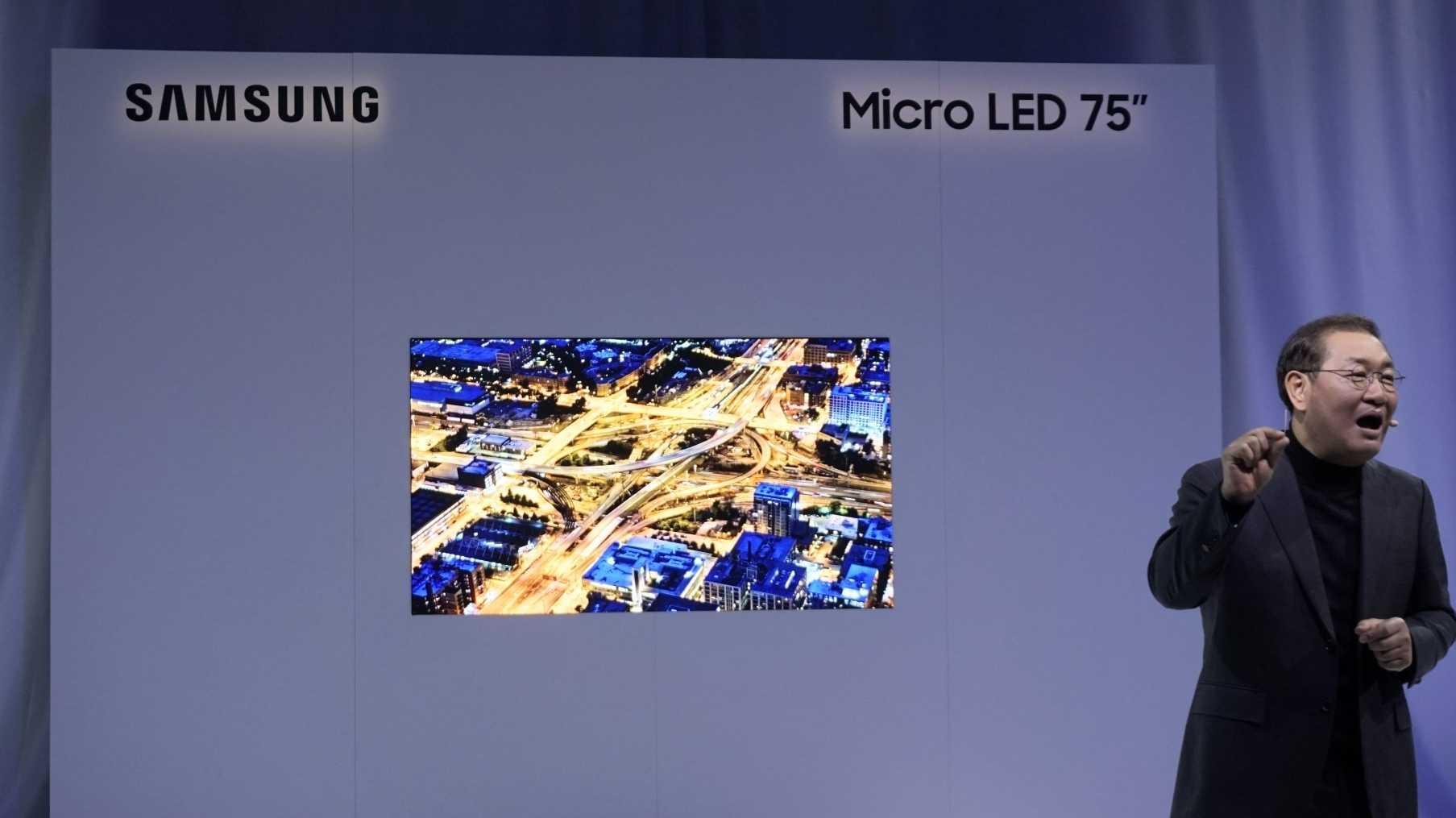 Samsung setzt weiter auf Mikro-LEDs und zeigt ein Display aus 8 Millionen Leuchtdioden