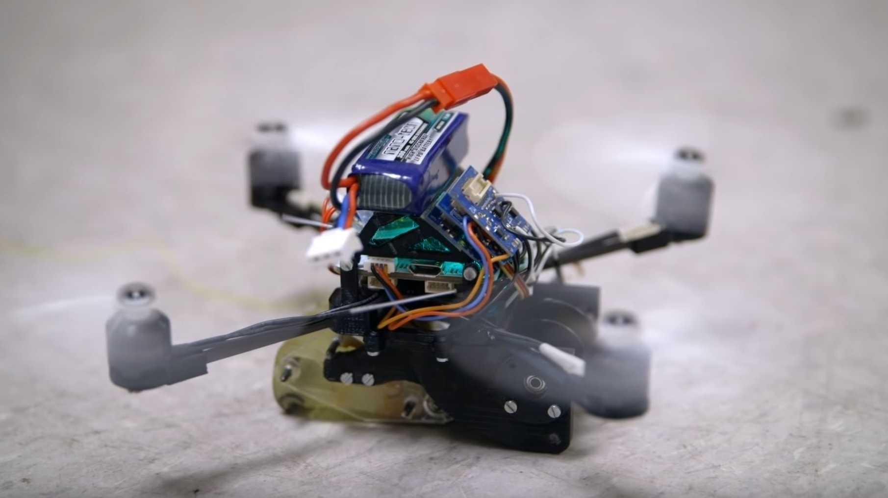FlyCroTug: Kleine Drohne mit großer Zugkraft