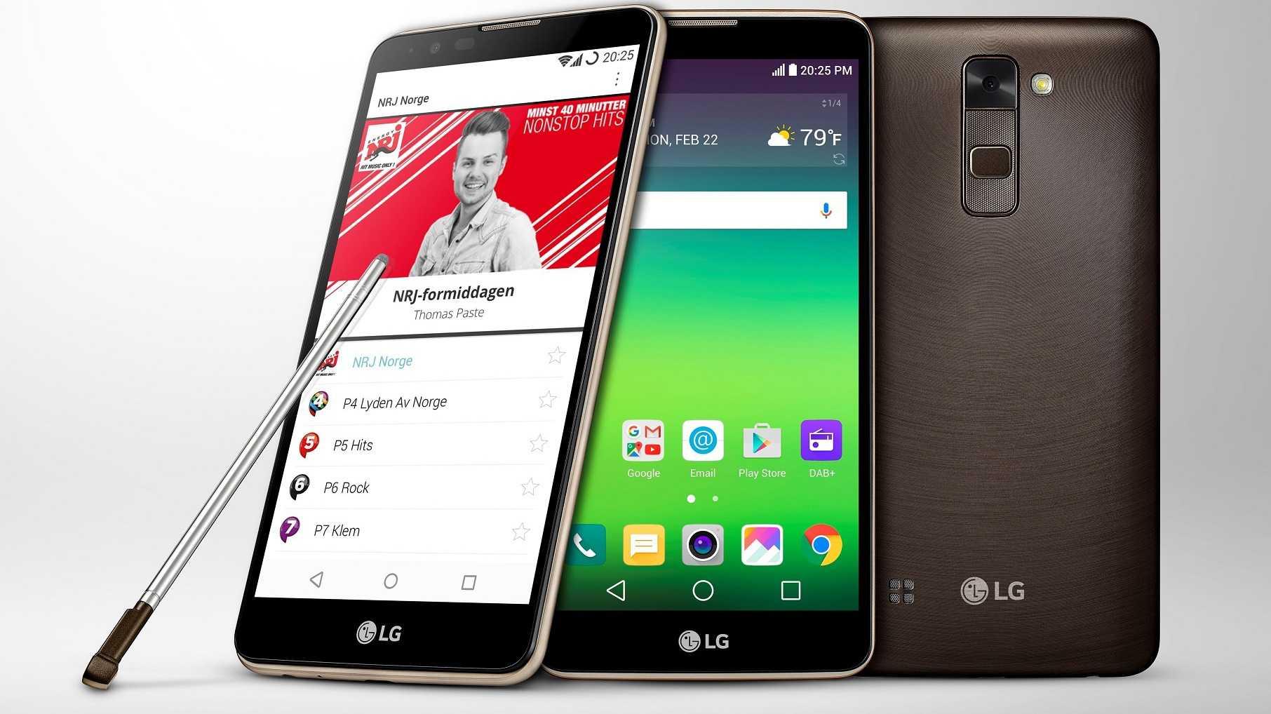 LG Stylus 2: Smartphone mit Digitalradio DAB+ und Stift