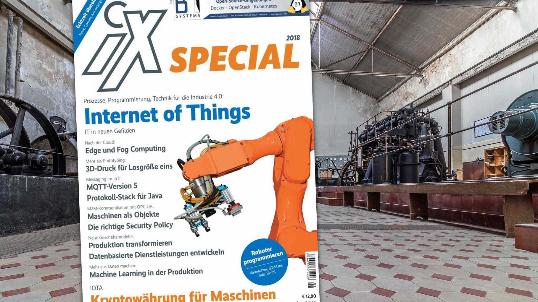 iX Special: Internet of Things und Industrie 4.0