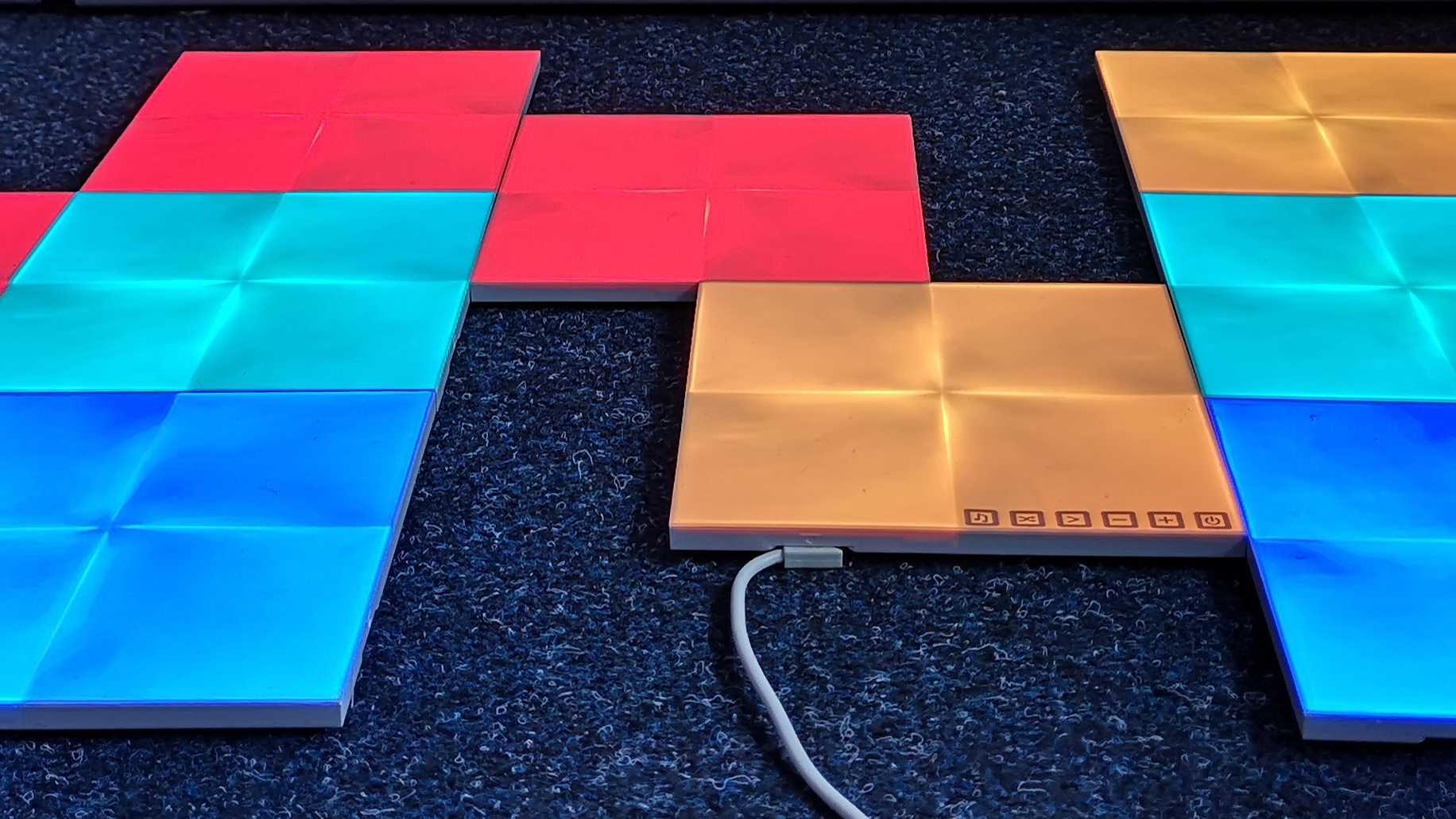 Test Nanoleaf Canvas: Smartes Dekolicht in neuer Auflage