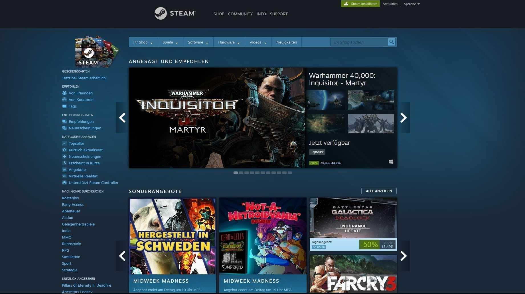 Kontroverse Spiele auf Steam: Valve will sich weniger einmischen